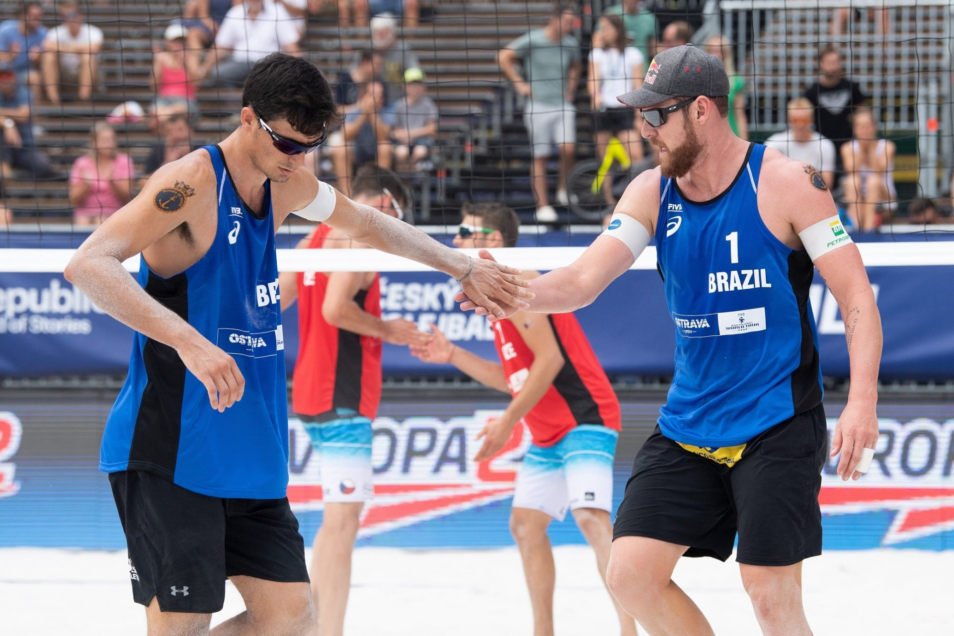 After a win in their debut, Alison and Andre struggled with back-to-back setbacks (Photocredit: FIVB)