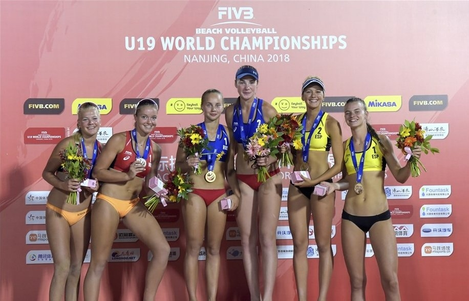 Bocharova and Voronina won their first Under-19 world title