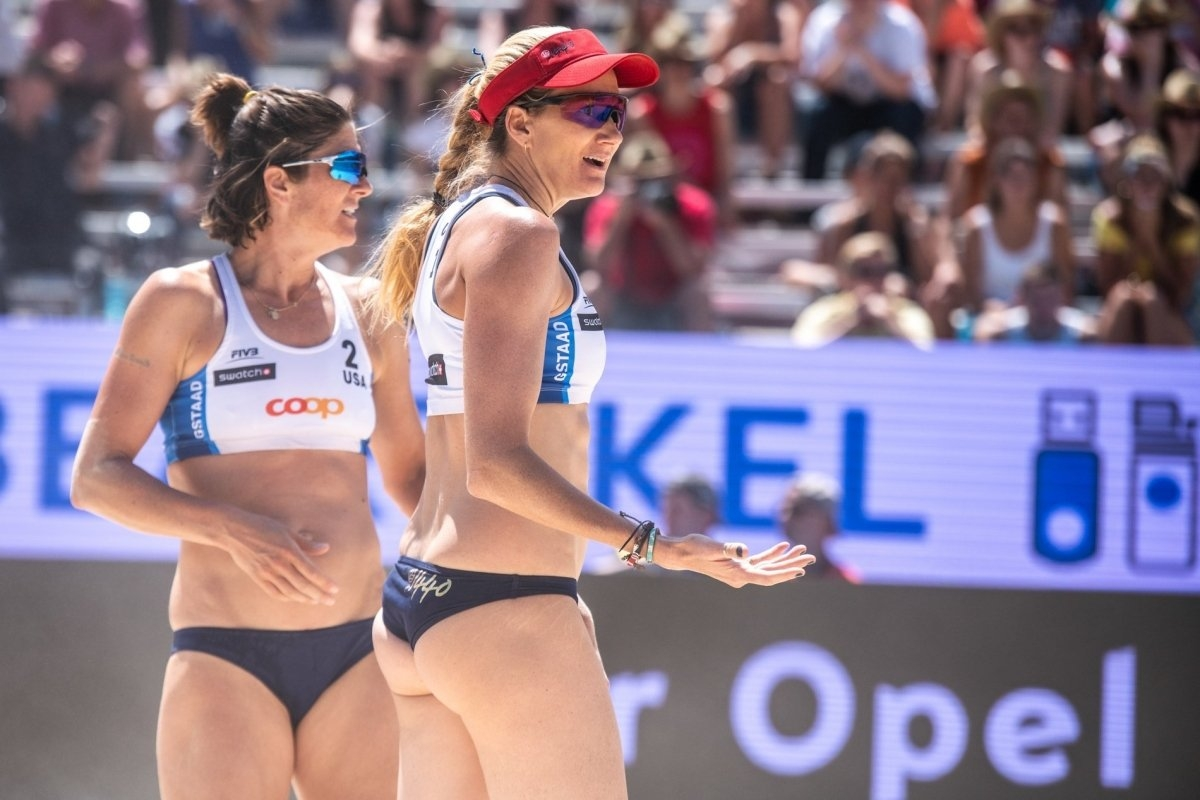 Nicole and Kerri won just one of their three matches in Gstaad a couple of weeks ago