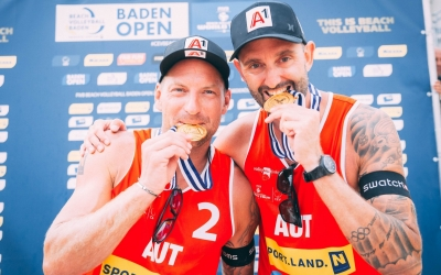 Doppler and Horst lead Austrian medal party in Baden
