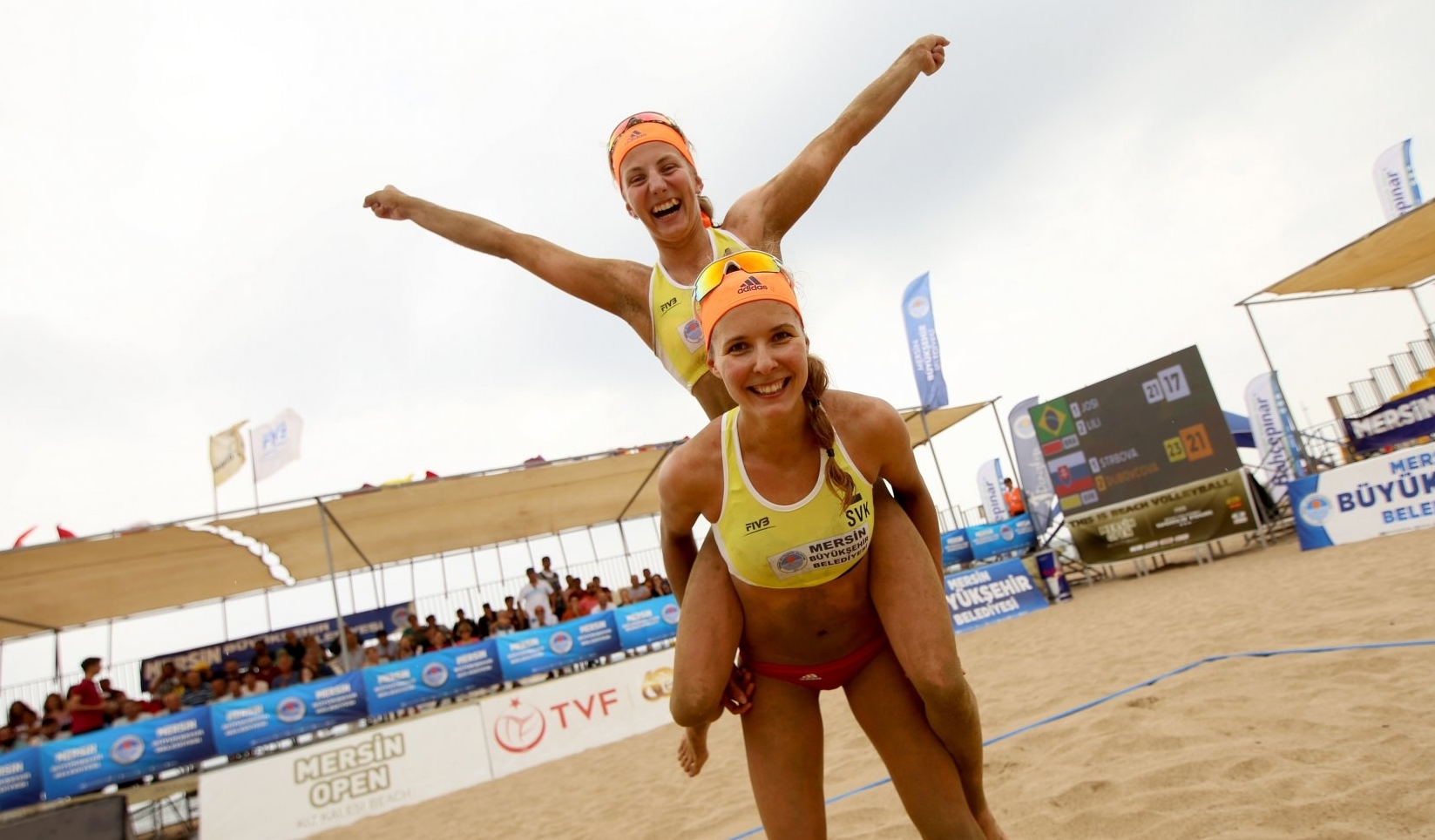 Dubvocova and her new partner Strbova dream about competing in the Tokyo 2020 Olympics (Photocredit: FIVB)