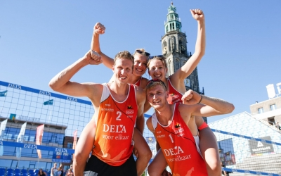 Varenhorst and Bouter on top on Dutch Tour